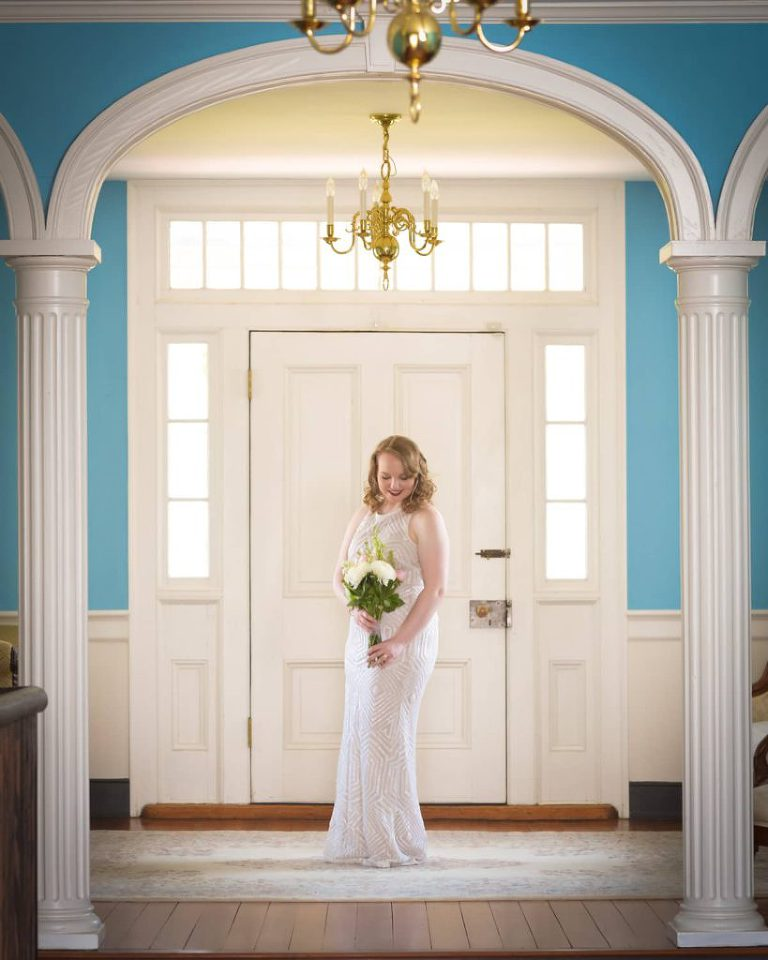 Belle Grove Plantation Bridal Portrait
