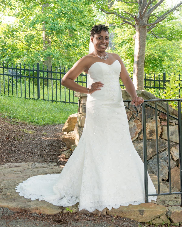 Bridal portrait in Chesterfield, Virginia