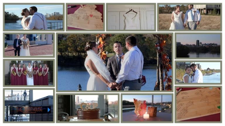 Boat House at Rocket's Landing Wedding
